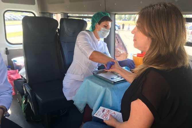 В Тольятти проходит акция Минздрава РФ по экспресс-тестированию на ВИЧ