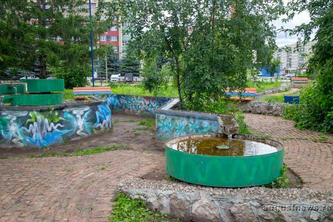 «Тольятти в фокусе»: Фонтаны