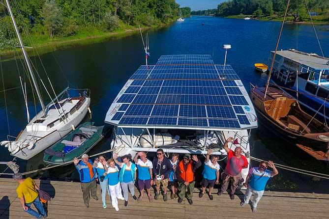 Установлен рекорд — самое продолжительное путешествие на солнечной энергии по рекам России