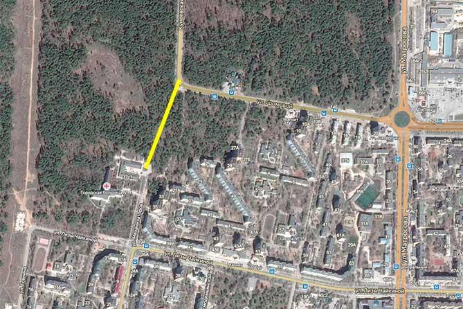 Корректировка проекта строительства автодороги на улице Механизаторов