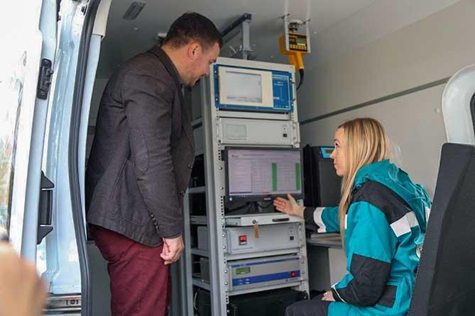 В Тольятти мобильная лаборатория посещает «горячие» точки города