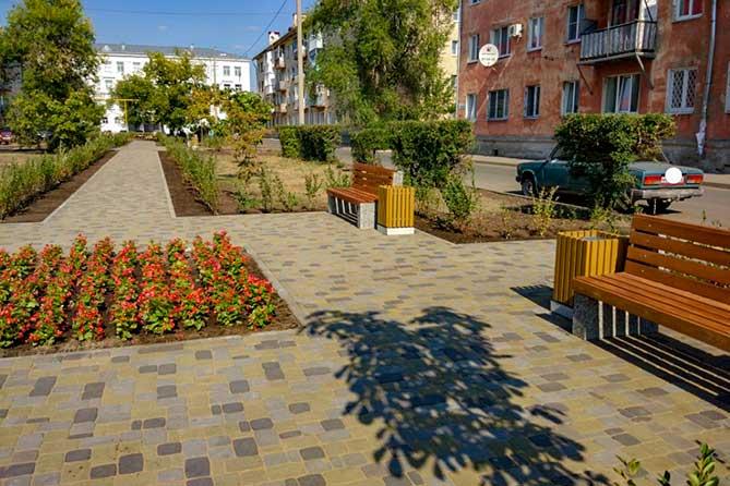 В Тольятти открыт новый сквер на улице Крылова