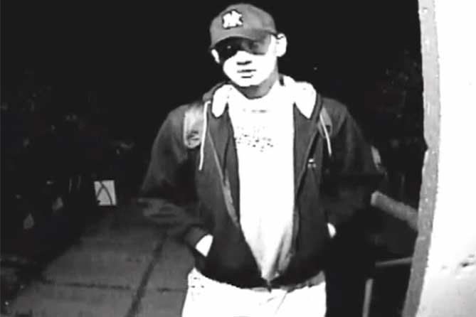Внимание розыск: Подозреваемый мужчина снят на видео