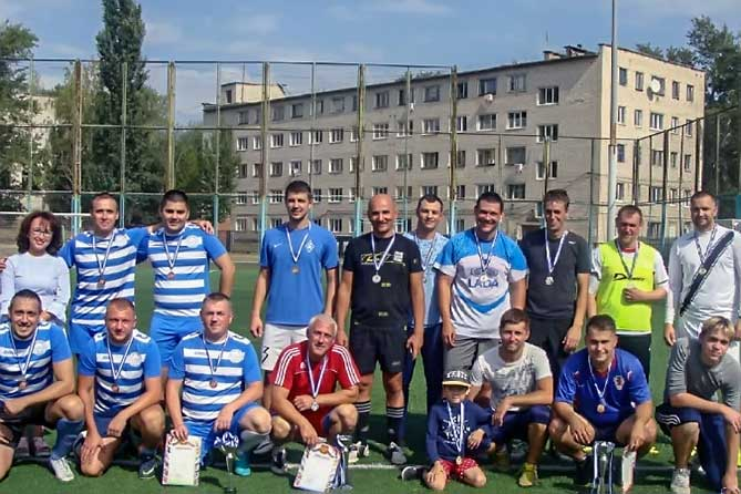 Сотрудники тольяттинской полиции приняли участие в открытом Кубке по мини — футболу