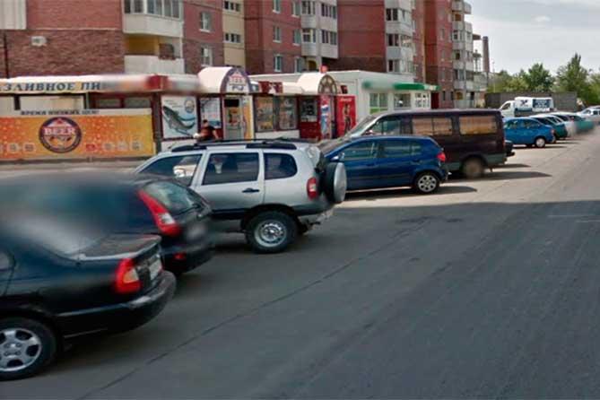 Подсчет на улице Гидротехнической: Итого — 29