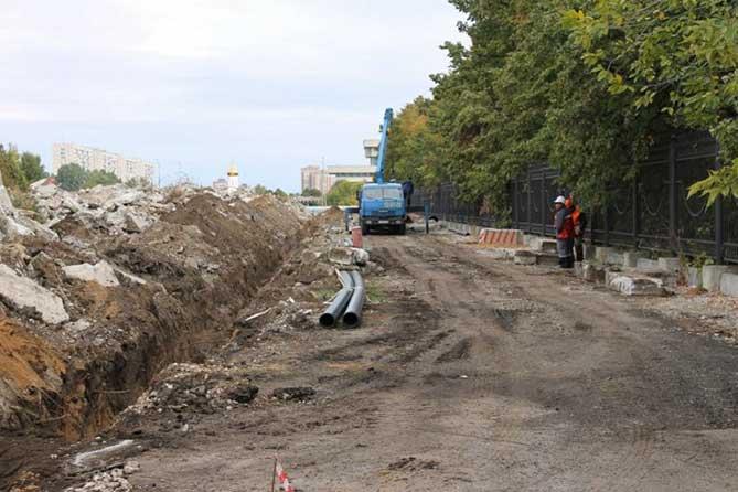 Строительство сквера в честь 50-летия АВТОВАЗа: Проблемы и пути их решения