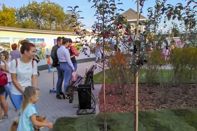 В Тольятти состоялось открытие сквера на месте бывшего кинотеатра «Маяк»