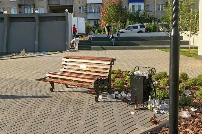В городе нет денег на то, чтобы по семь раз восстанавливать то, что разломали отдельные жители