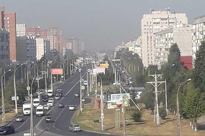 К образованию смога и едкого запаха в Тольятти приводит комплекс причин