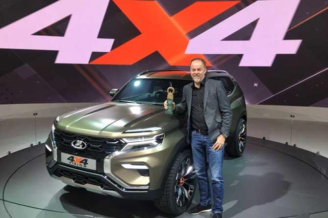 АВТОВАЗ: LADA 4х4 VISION — лучший экспонат Московского международного автосалона 2018