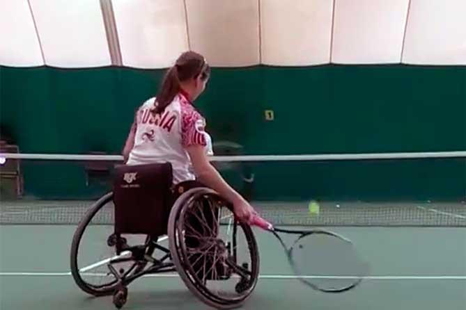 Приглашаем детей на открытые уроки по теннису на колясках
