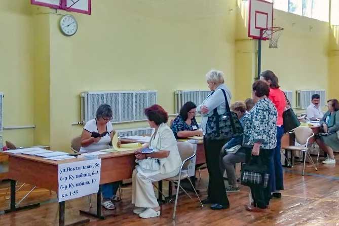 В Тольятти открылись избирательные участки 9 сентября 2018 года