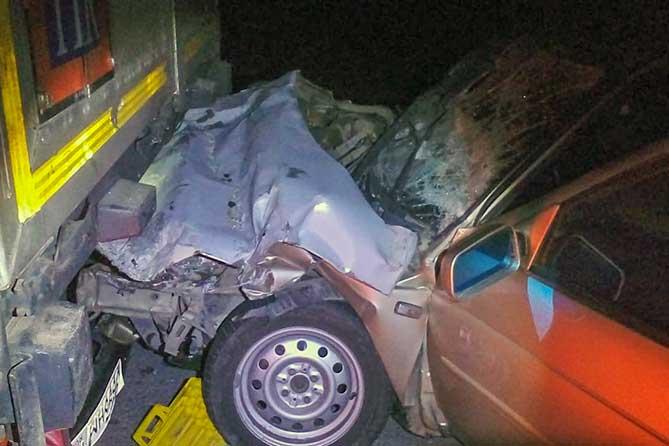 Водитель автомобиля от полученных травм скончался на месте ДТП: 21-10-2018