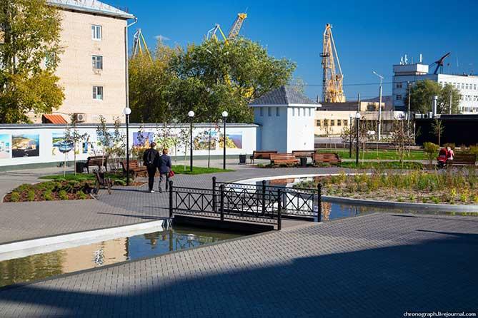 Исторический сквер Маяк в Тольятти: Фотоальбом