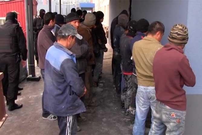 ОМОН привлекли для проверки мигрантов
