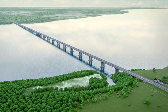 Мост начнут строить в 2019 году: До Москвы можно будет добраться в 2 раза быстрее