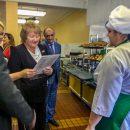Депутаты губернской думы приехали в школу 94 в Тольятти