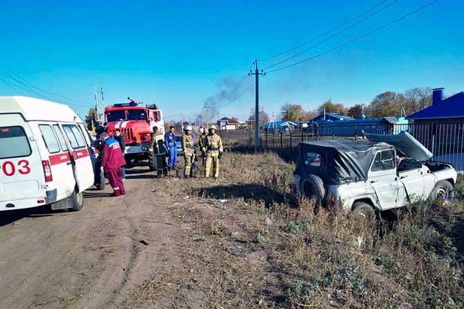 Водитель погиб в ДТП в селе Тимофеевка 17 октября 2018 года