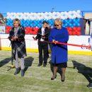 На территории тольяттинского машиностроительного колледжа открылась новая спортплощадка