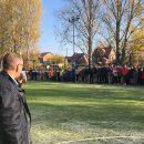Открылась новая спортивная площадка в школе-интернате № 5