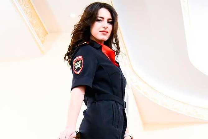 Самая красивая в области сотрудница полиции из Тольятти