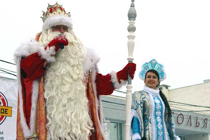 Новогодний проект «Чудо-маршрут Деда Мороза и Снегурочки» в Тольятти