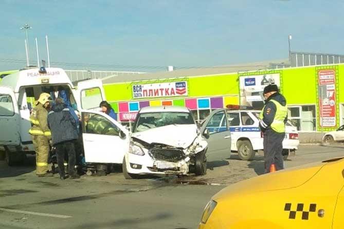 В Тольятти нетрезвый водитель устроил ДТП на Автозаводском шоссе