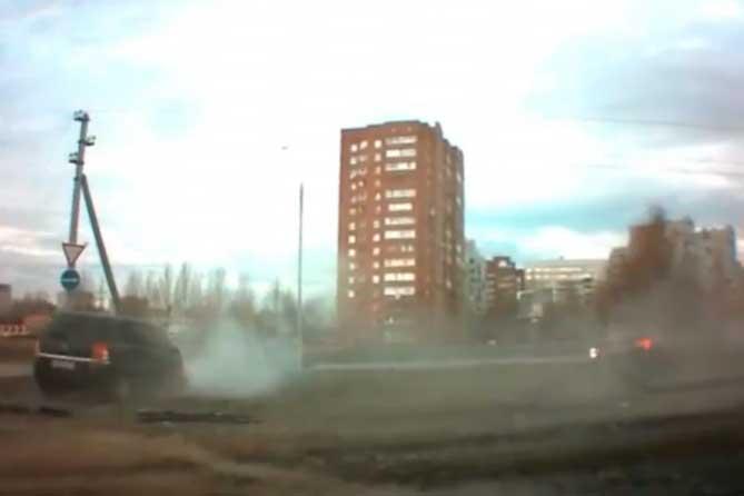 В Тольятти нетрезвый водитель устроил ДТП на «Тещином языке»
