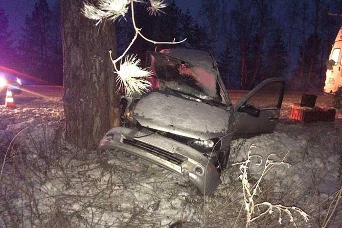На автодороге «Тольятти-Димитровград» водитель автомобиля не справилась с рулевым управлением