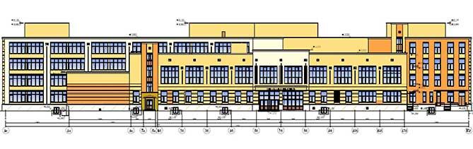 Строительство двух школ в Тольятти