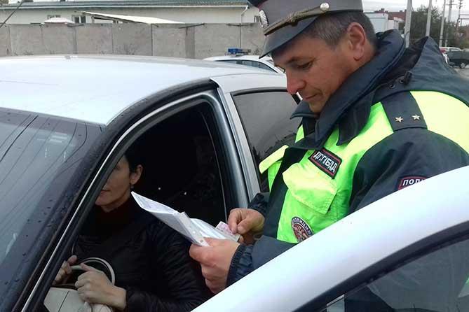 Автолюбительнице из села Ягодное грозит уголовное наказание