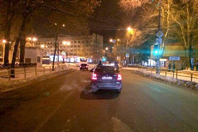 В результате ДТП на улице Победы пострадала 18-летняя девушка