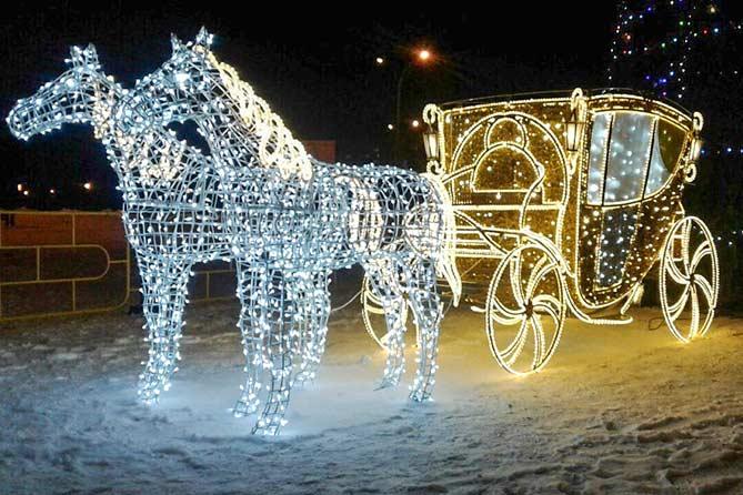 В Тольятти идет подготовка к празднованию Нового года и Рождества 2019