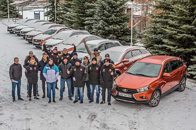 Пилотов LADA Sport ROSNEFT наградили в Тольятти