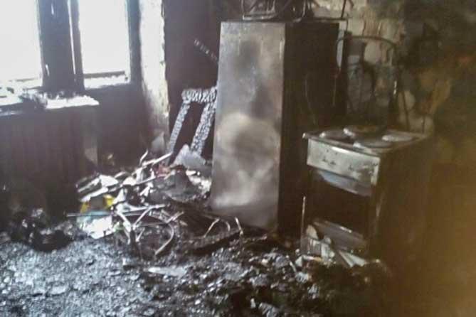 «Господи, как я перепугалась, когда начали разбивать стекла в подъезде»: Пожар на Революционной в Тольятти