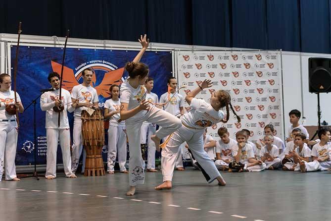 Шестые детско-юношеские соревнования по Капоэйра в Тольятти