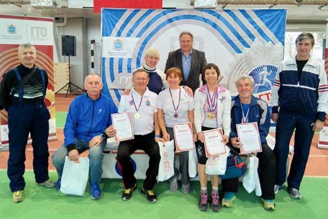Тольяттинские ветераны спорта в числе лучших по выполнению нормативов ГТО