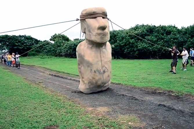 От ходячих статуй – к путешествующим домам