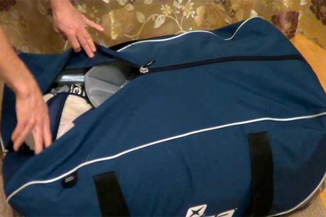 Житель Тольятти оставил сумку около магазина