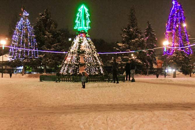 Тольятти украсят к Новому году до 10 декабря 2018 года