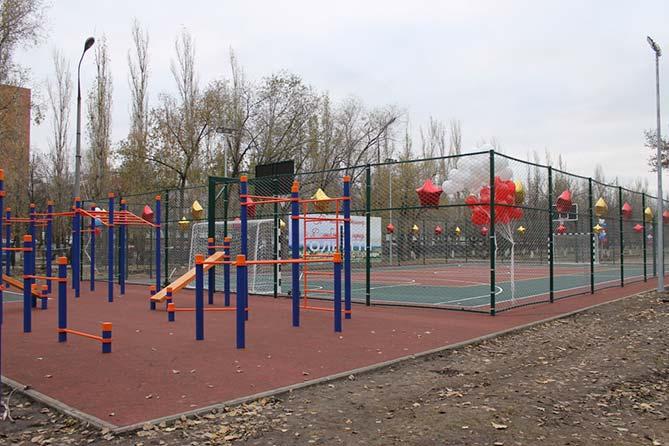 В Тольятти 30 ноября 2018 года состоится открытие спортплощадки, корта и детской игровой площадки