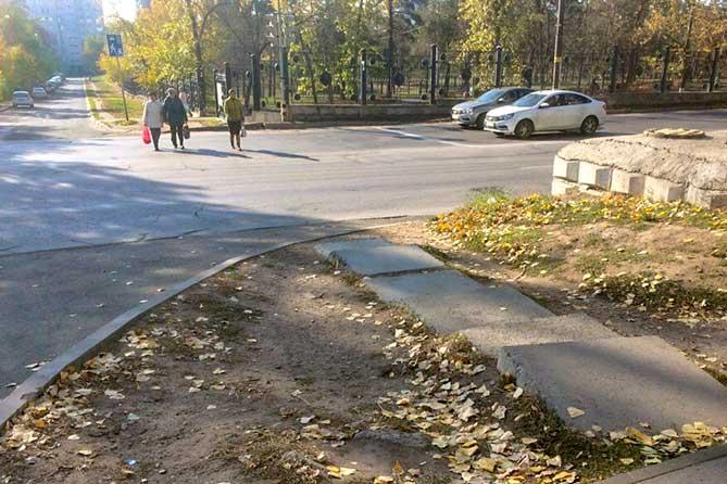 Участники рейда проверили состояние улично-дорожной сети рядом со школами