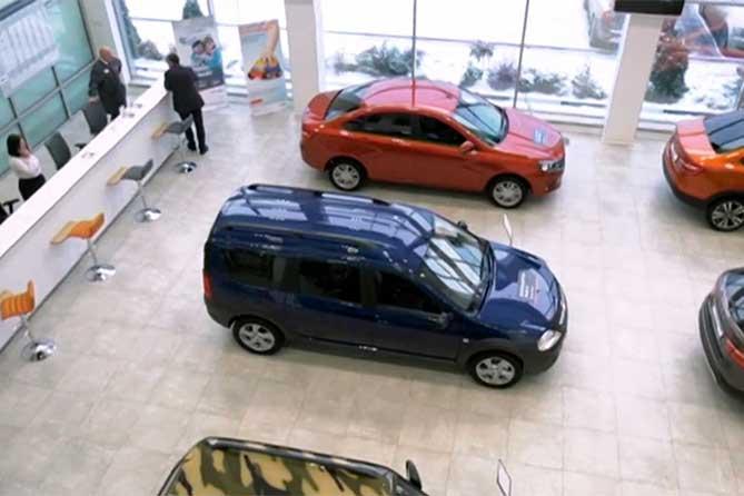 Открыт новый крупный автосалон LADA