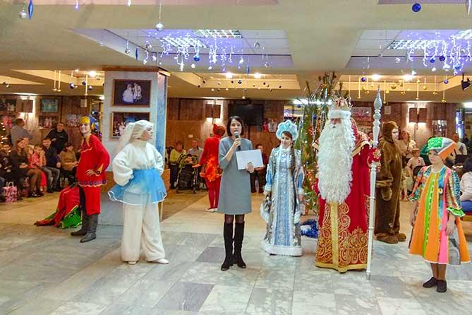 Всероссийский Дед Мороз из Великого Устюга посетил Тольятти 22 декабря 2018 года