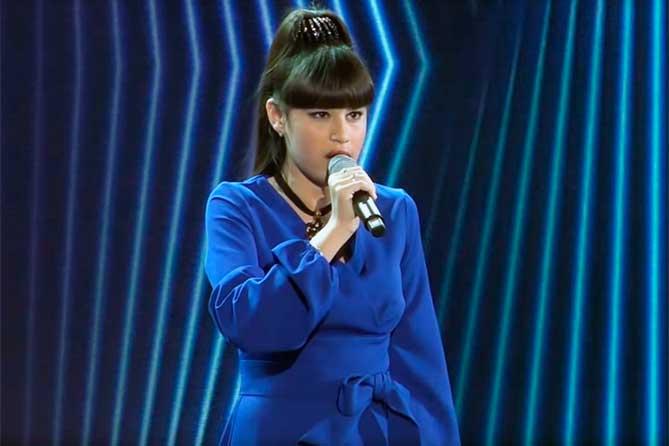 Диана Анкудинова из Тольятти: Голос становится сильнее