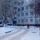 Глава города недоволен уборкой снега внутриквартальных дорог