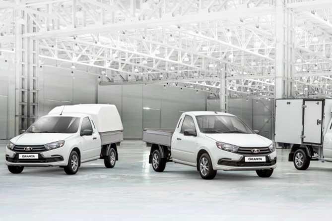 АВТОВАЗ объявил о старте продаж новой линейки коммерческих автомобилей LADA Granta