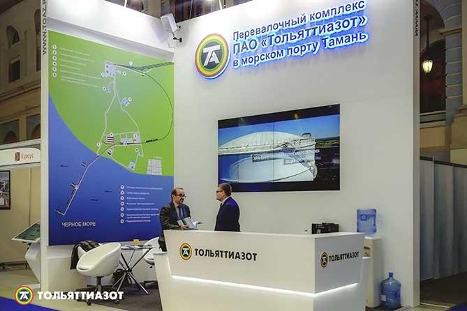 ТОАЗ реализует проект по строительству перевалочного комплекса аммиака и карбамида в морском порту Тамань