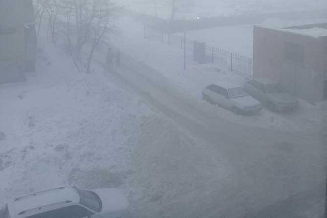 Неблагоприятные метеусловия в Тольятти 3 и 4 декабря 2018 года