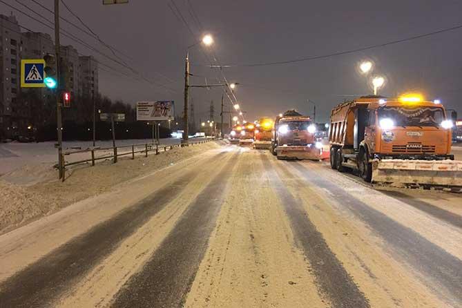 Глава Тольятти лично проинспектировал уборку дорог